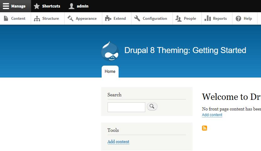 drupal theming menu